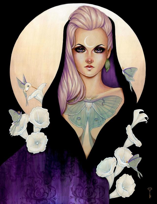 A Moonlit Bloom by Glenn Arthur