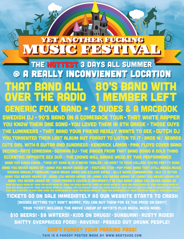 Another Fucking Music Festival