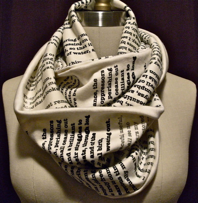 Book Scarves by Tori Iannarino