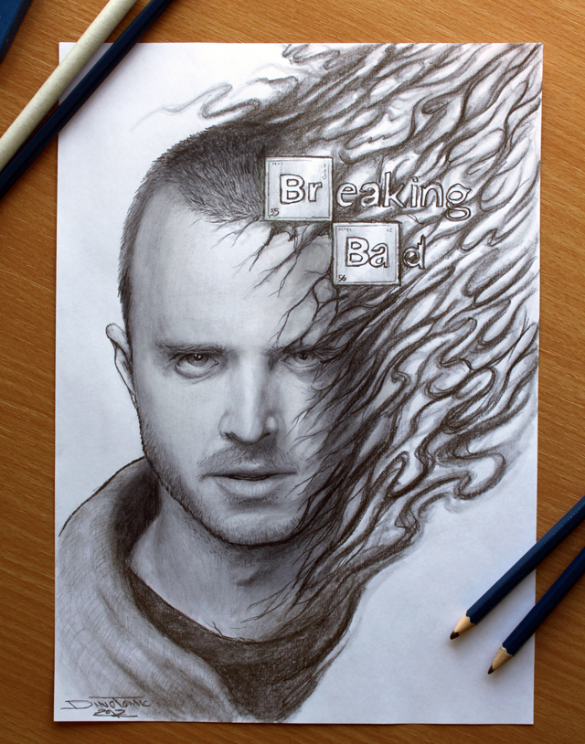 Breaking Bad : Jesse Pinkman by Dino Tomic