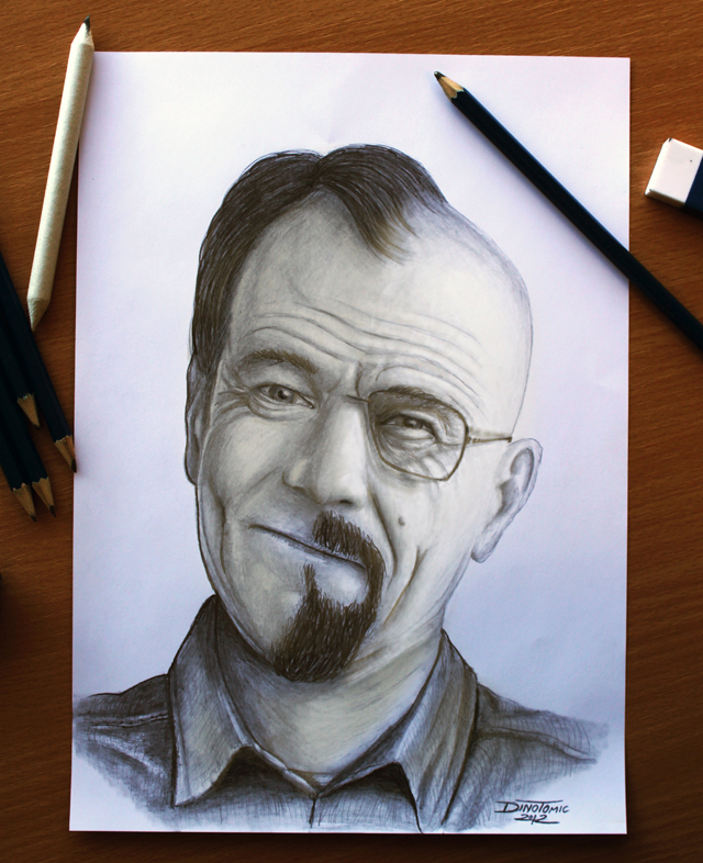 Breaking Bad : Walter White by Dino Tomic