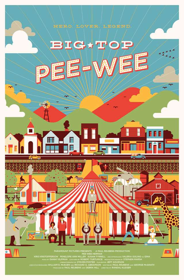 Big Top Pee-Wee by DKNG Studios