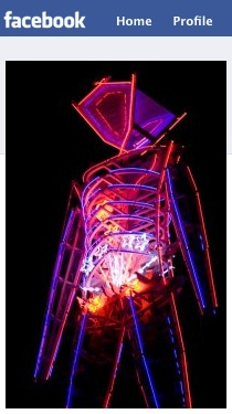 Burning Man on Facebook