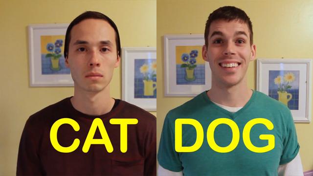 Cat-Friend vs Dog-Friend by  FATAWESOME