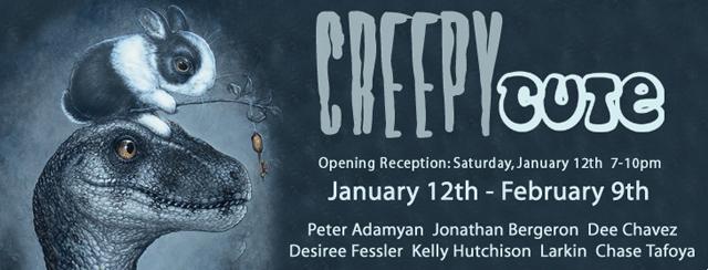 Creepu Cute Group Art Show at WWA Gallery