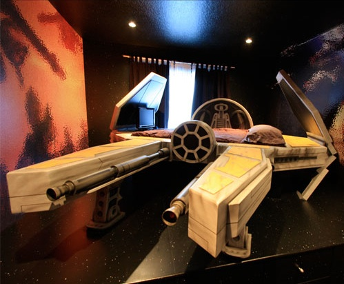 Deep Space Fighter Bed