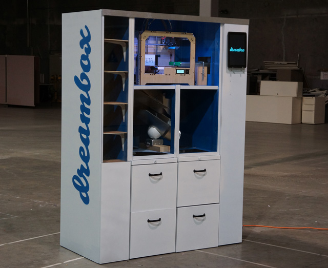 Dreambox 3D Printing Vending Machine