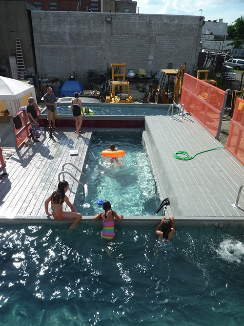 Dumpster Swimming Pool