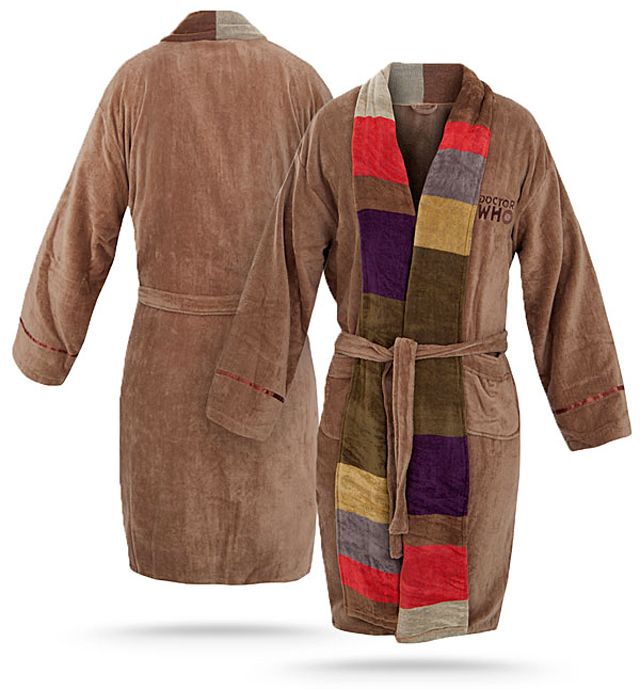 Doctor Who Themed Bathrobe - 4th Doctor