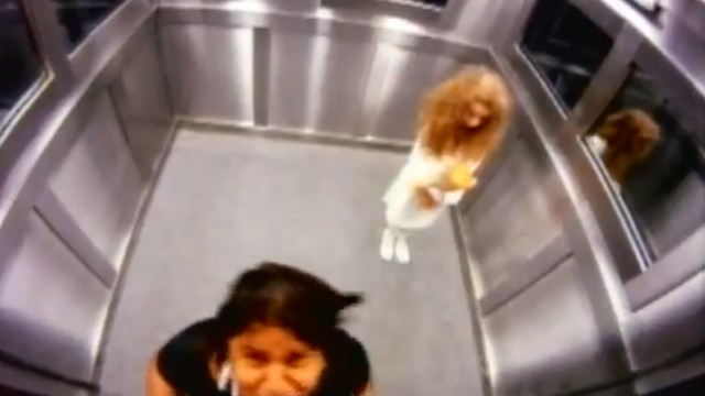 Phantom Girl in Elevator (Prank) by Programa Silvio Santos