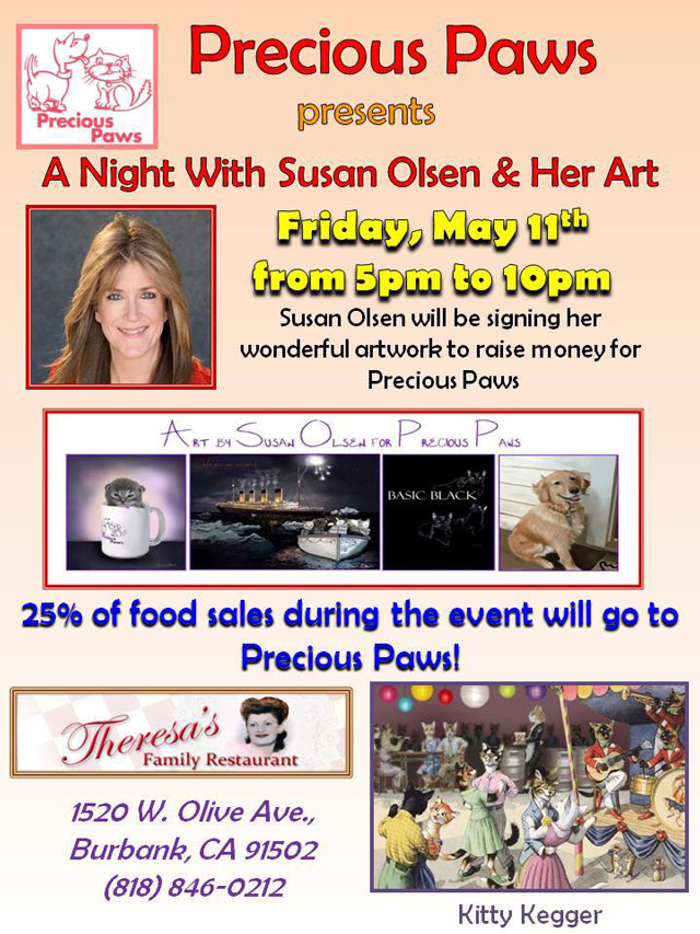 A Night with Susan Olsen & Her Art