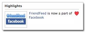 Facebook FriendFeed