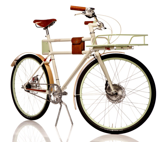 Faraday Porteur electric bicycle