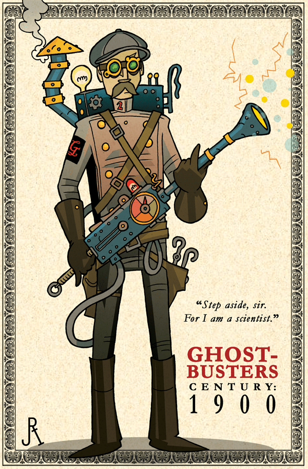 The Ghost-Busters - Century: 1900 by DrFaustusAU