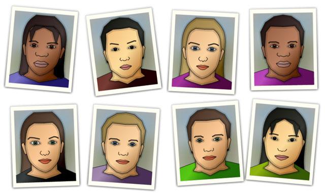 Grow A Face by Philipp Lenssen