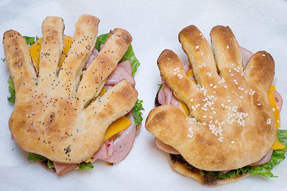 Hand Sandwiches