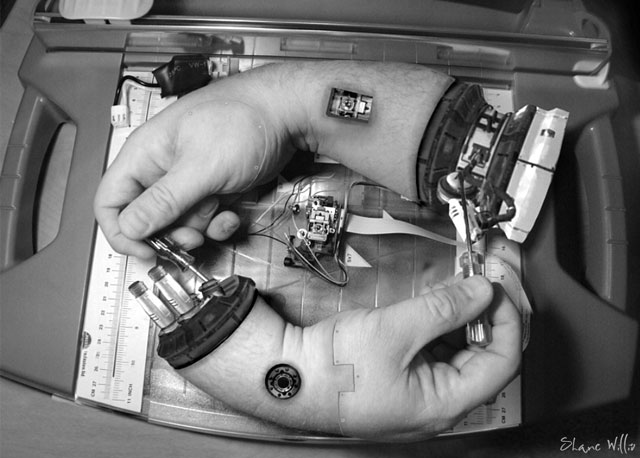 Hand Fixing Hand by Shane Willis