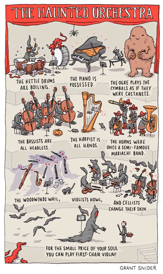 The Haunted Orchestra