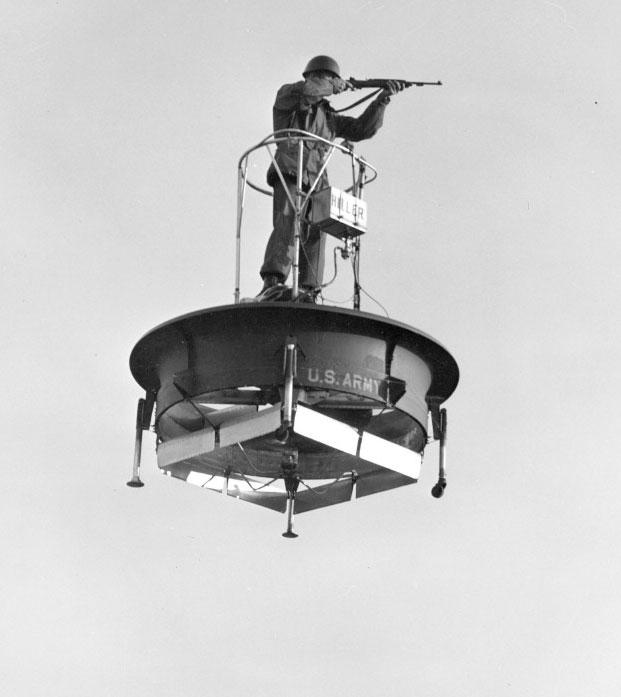 Hiller Flying Platform