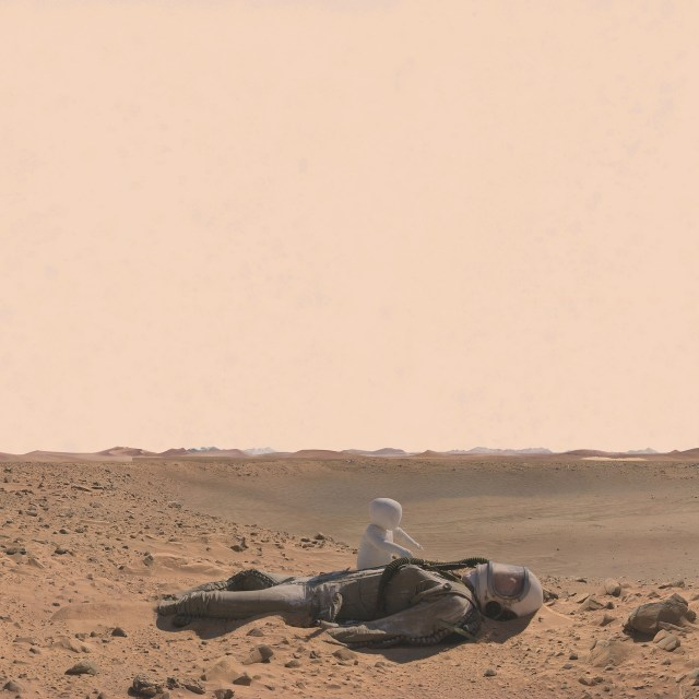 Mars: Adrift on the Hourglass Sea by Kahn and Selesnick