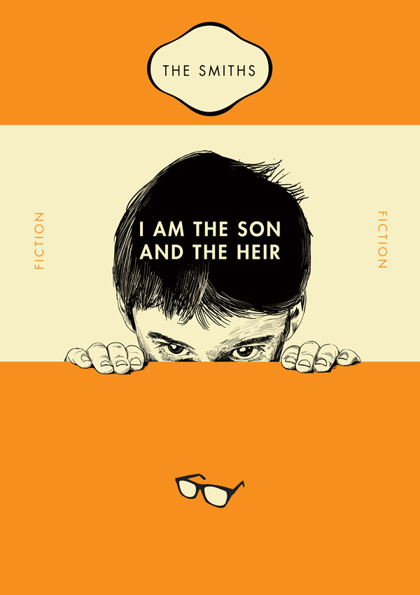 Penguin Book Cover T Shirts : The smiths song lyrics as classic penguin paperback book