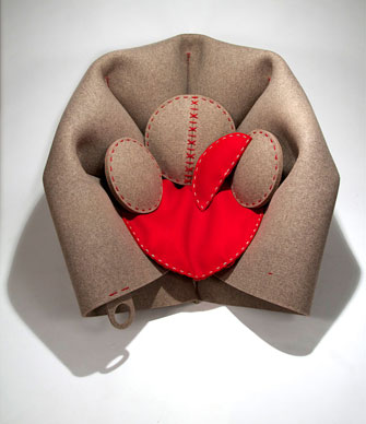 HUSH chair by Freyja Sewell