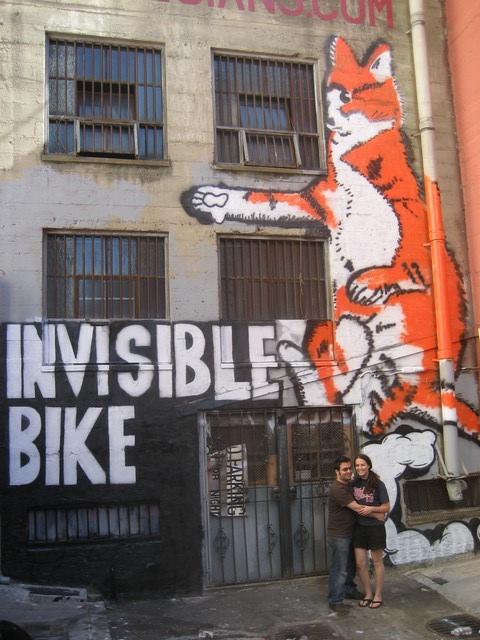 Invisible Bike Mural