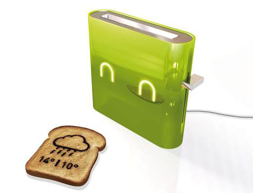 Jamy Weather Forecasting Smart Toaster by Nathan Brunstein