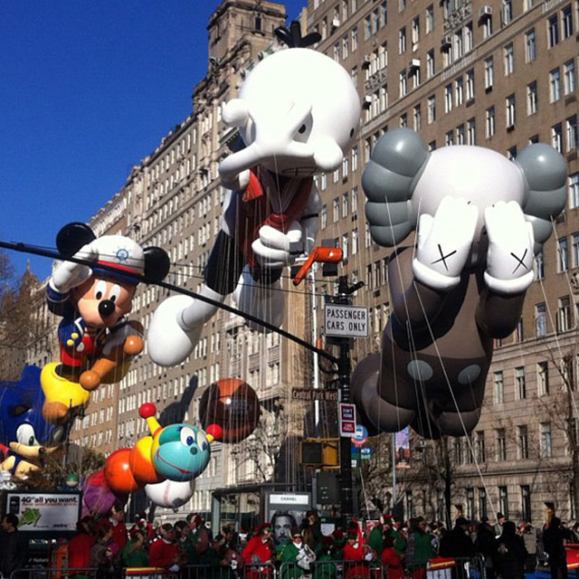 "KAWS ""Companion"" Float For Macy's Thanksgiving Day Parade"