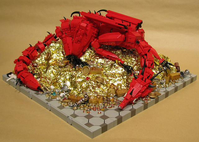 LEGO Smaug