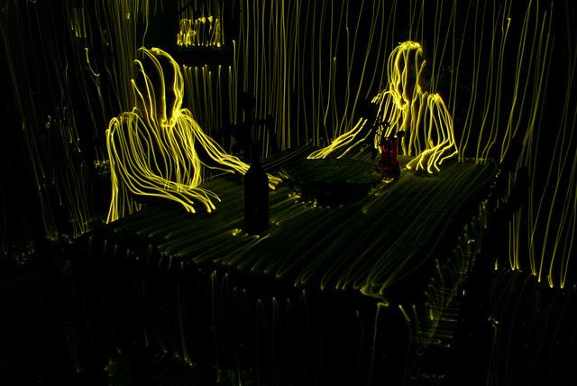 Contour Light Painting by Janne Parvianen
