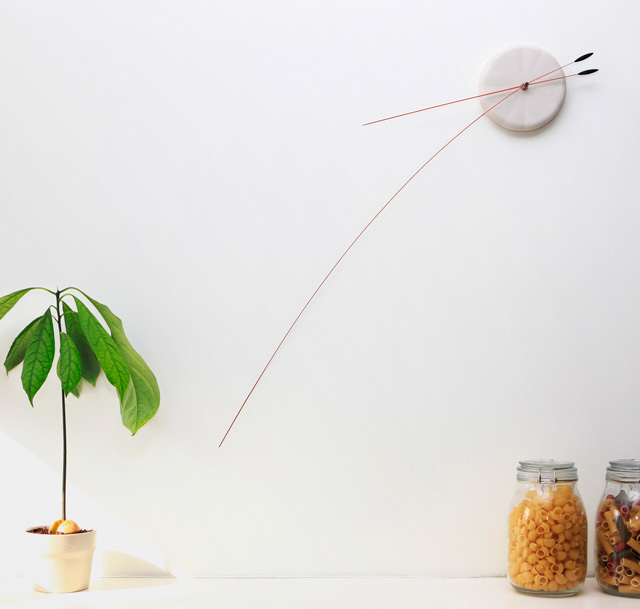 Lithe Clock by Studio Ve
