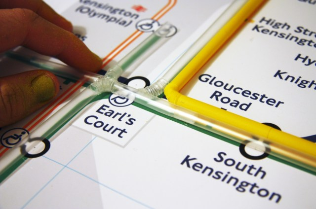 Tube Map by Kyle Bean