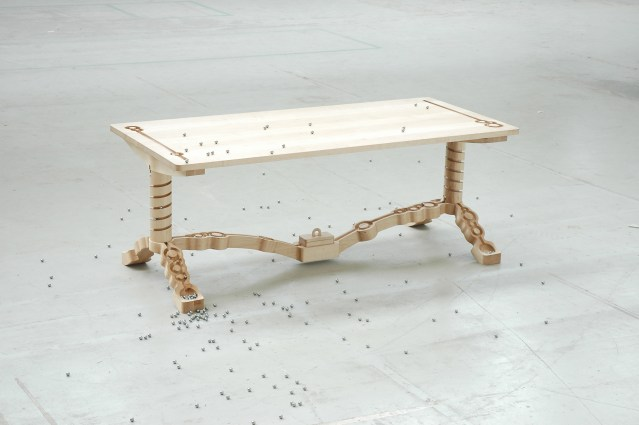 Marbelous table by Ontwerpduo