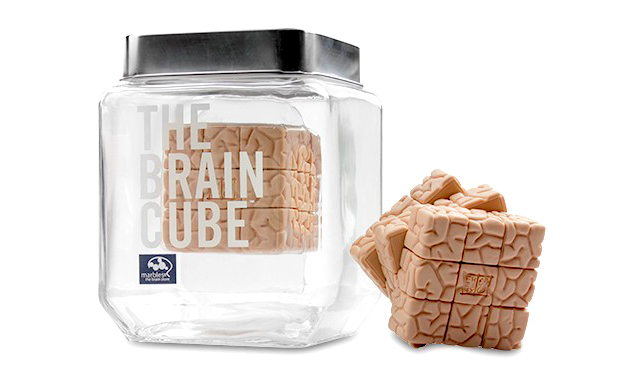 The Brain Cube by Jason Freeny
