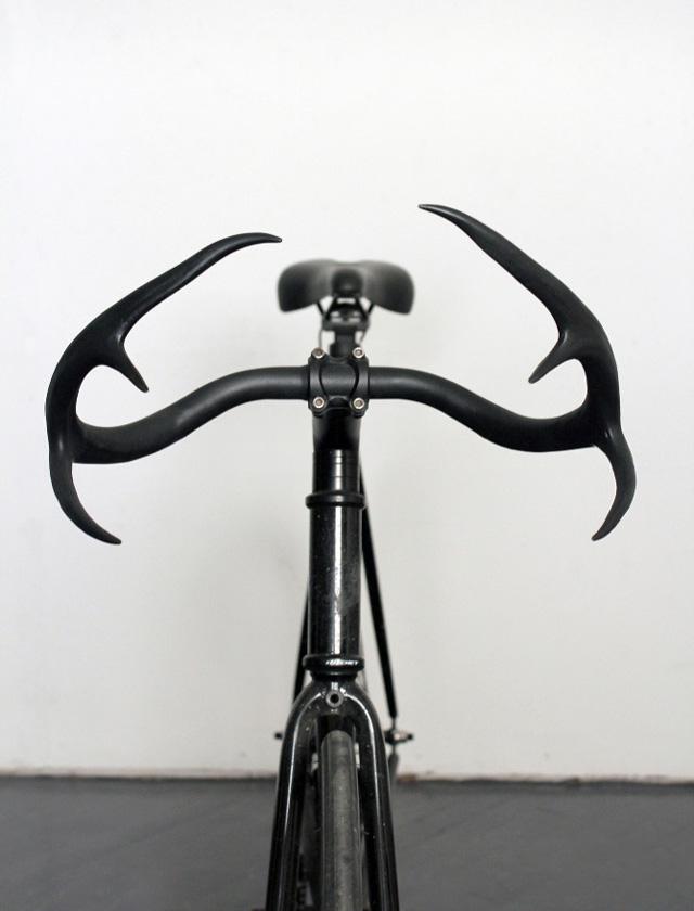 Moniker deer antler bicycle handlebars by Taylor Simpson