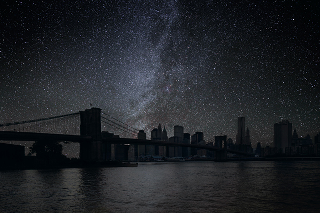 Darkened Cities by Thierry Cohen (New York)