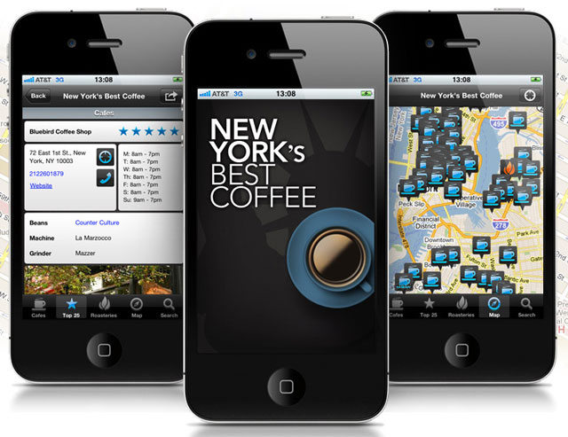 New York's Best Coffee App