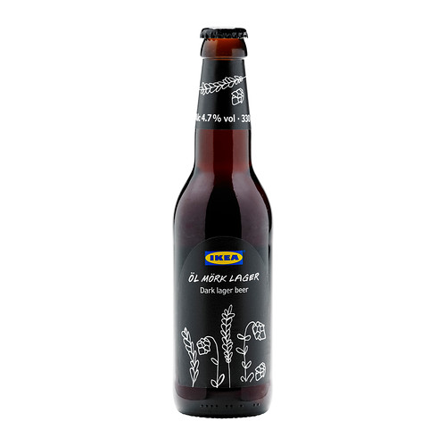 Dark Lager Beer by IKEA