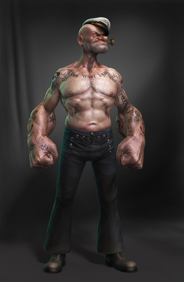 POPEYE_FRONT by Lee Romao