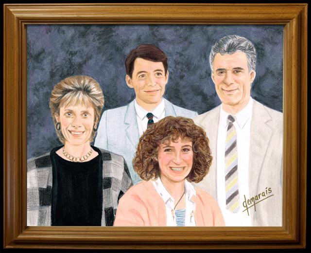 The Buellers (Ferris Bueller's Day Off) by Kirk Demarais