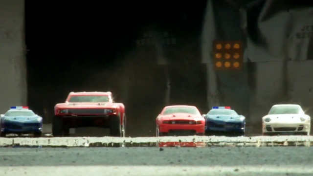 The Greatest R/C Car Chase Ever