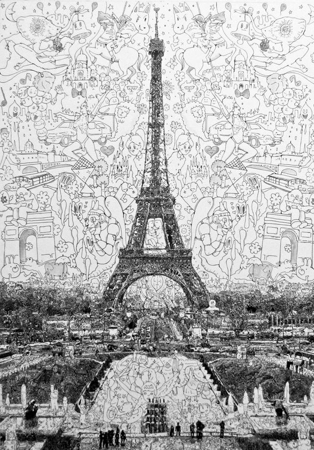 Doodle Drawings by Sagaki Keita