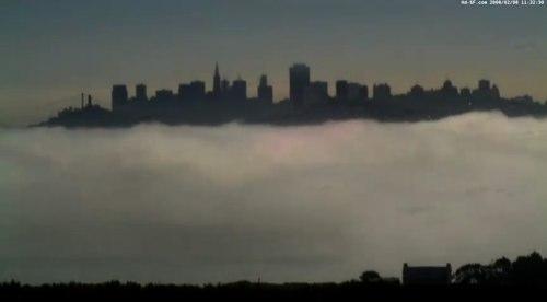 San Francisco Fog Time Lapse