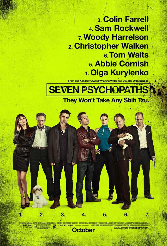 Seven Psychopaths Film