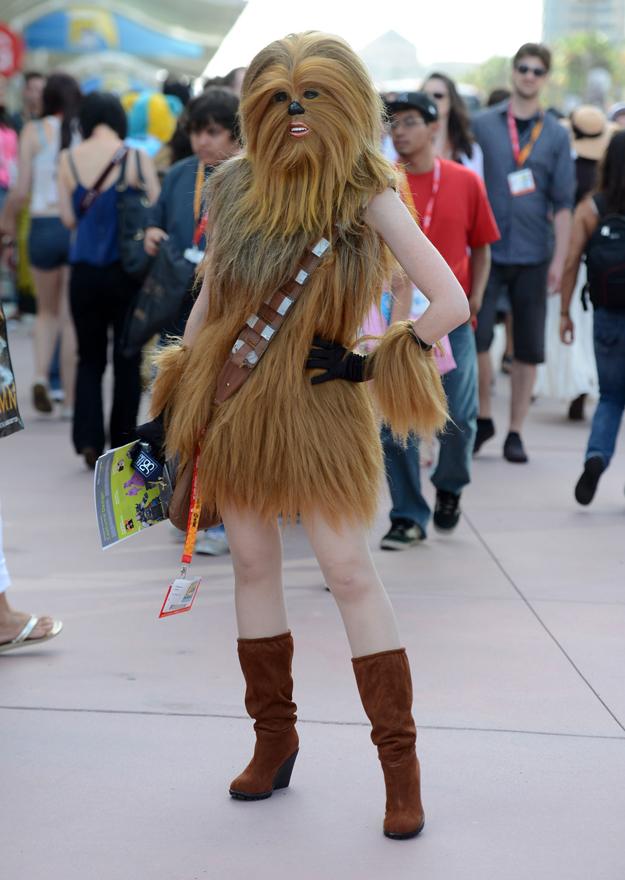 Sexy Chewbacca