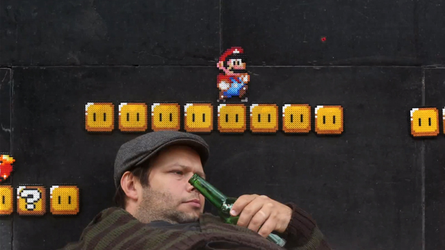 Super Mario Beads 3 by Marcus and Hannes Knutsson
