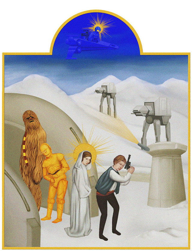 Star Wars medieval art