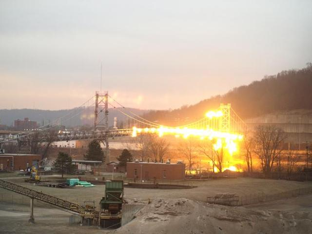 Fort Steuben Bridge demolition