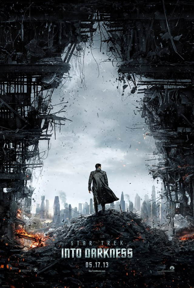Star Trek into Darkness (2013) Movie Poster